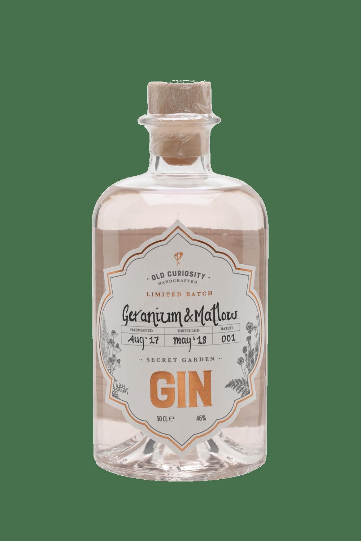 Old Curiosity Geranium & Mallow Secret Garden Gin