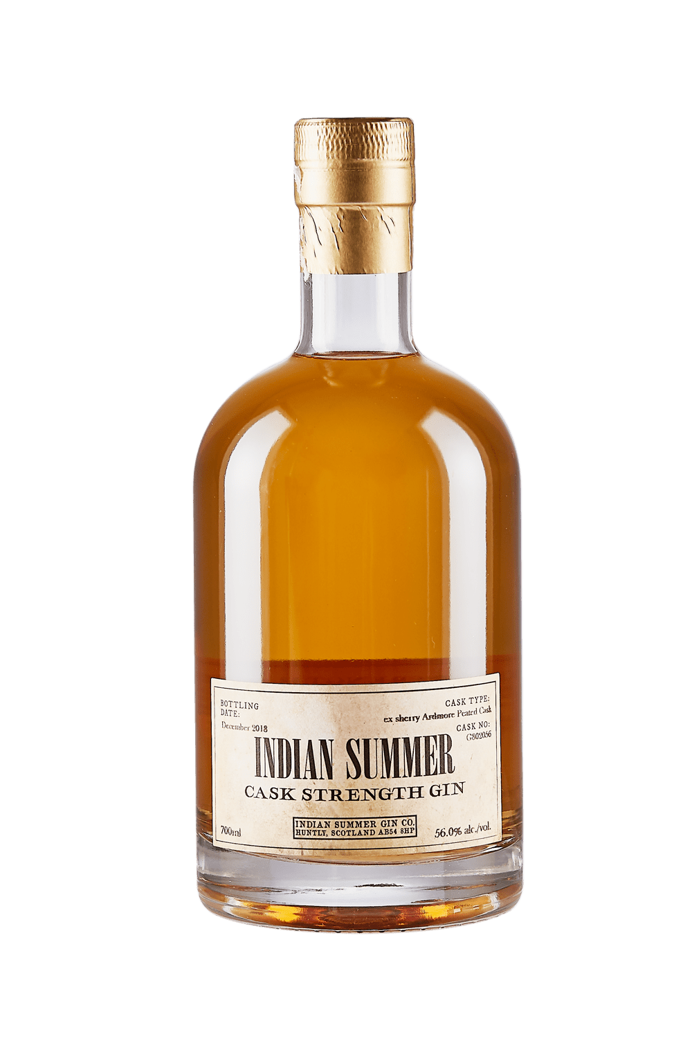 Indian Summer Ardmore Cask Strength Gin
