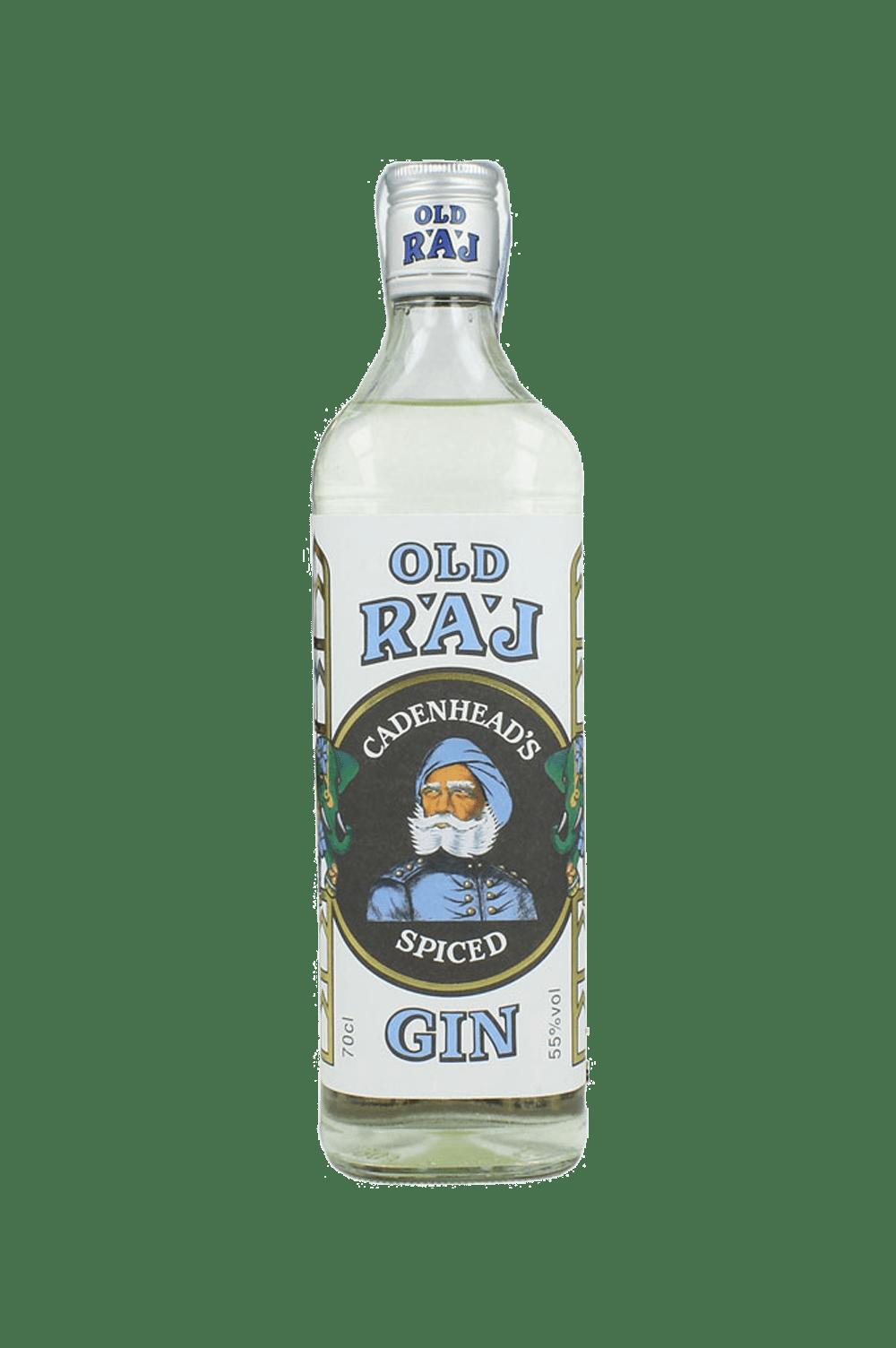 Cadenhead's Old Raj Spiced Gin Blue Label 55%