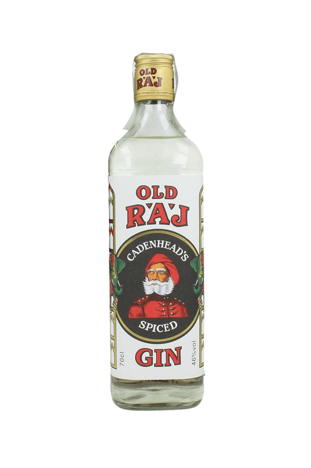 Cadenhead's Old Raj Spiced Gin Red Label 46%