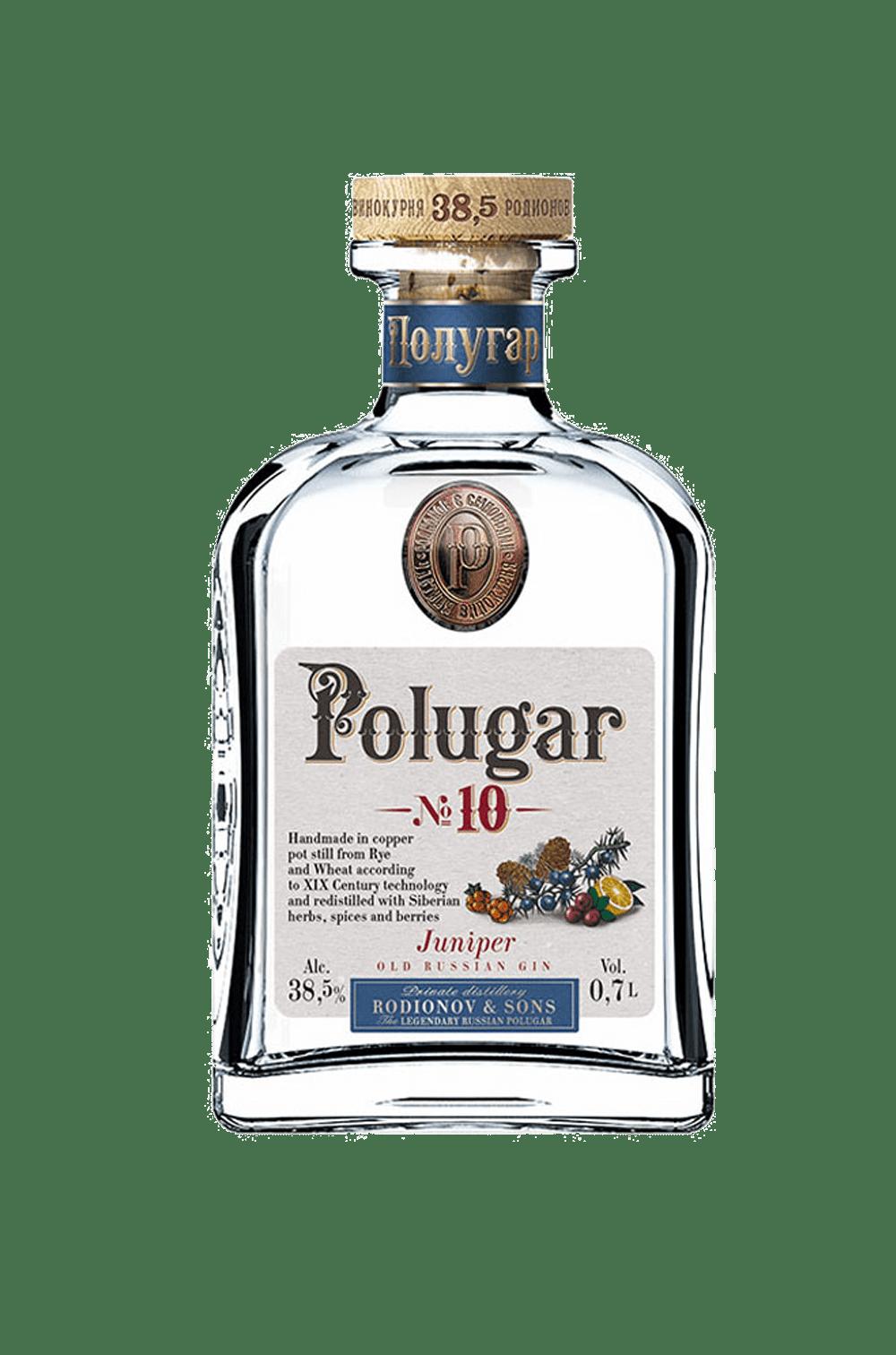 Polugar No. 10 Juniper – Old Russian Gin