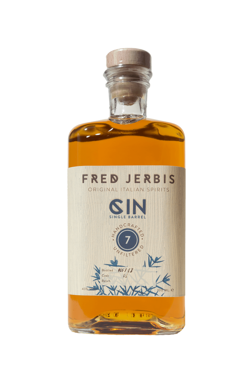 Fred Jerbis Gin 7 – Single Barrel