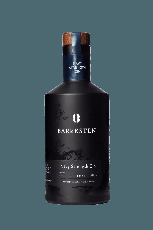 Bareksten Navy Strength Gin (70cl)