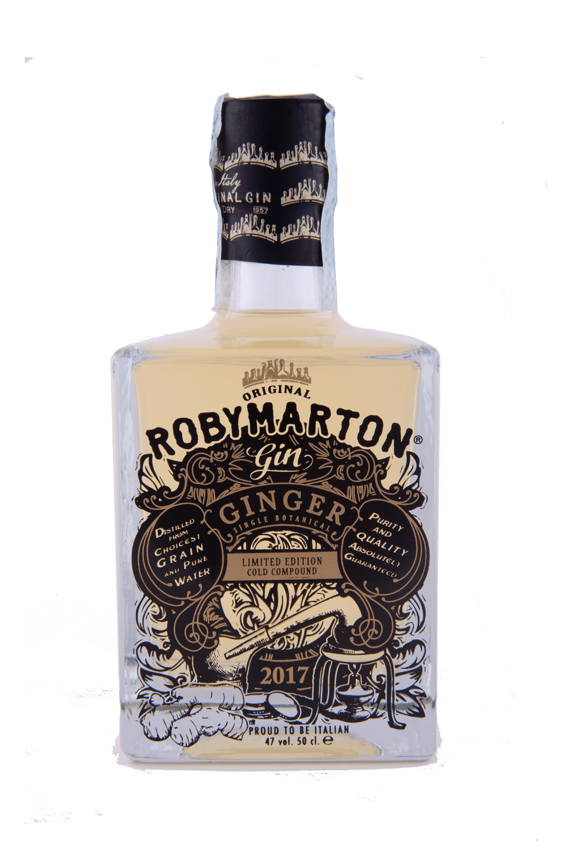 Roby Marton Gin Ginger Single Botanical