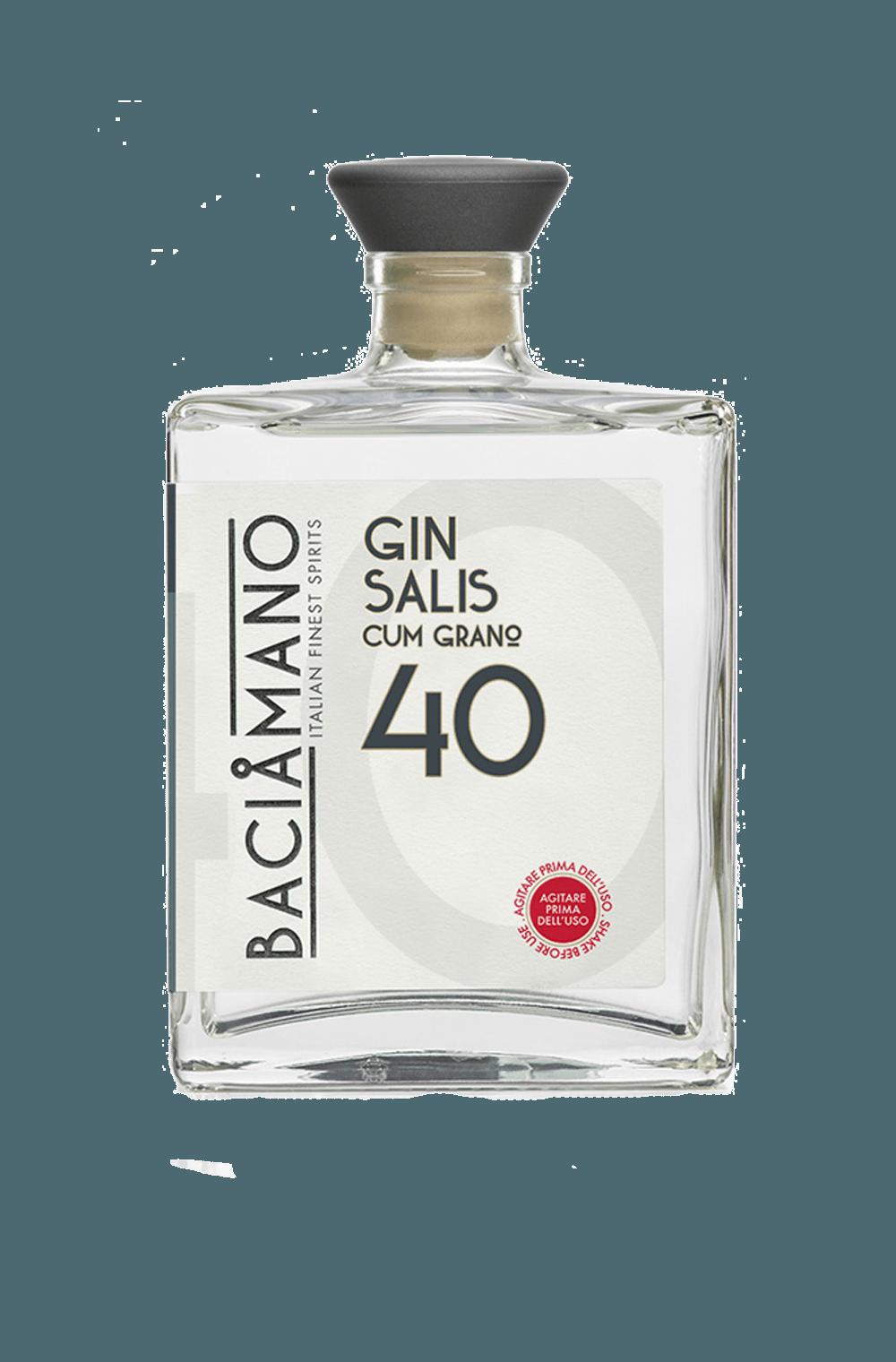 Baciamano (cum grano) Salis Gin 40