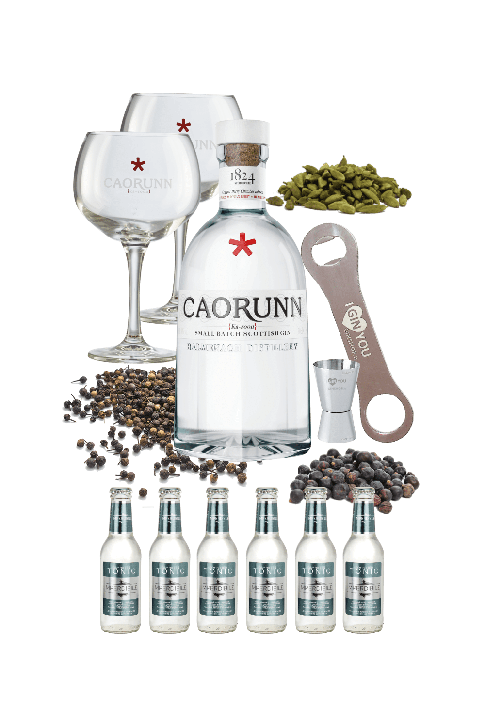 Caorunn – Mission Ginpossible