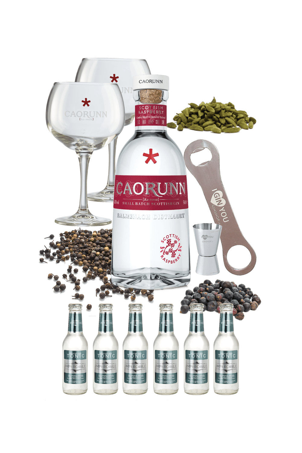 Caorunn Raspberry – Mission Ginpossible