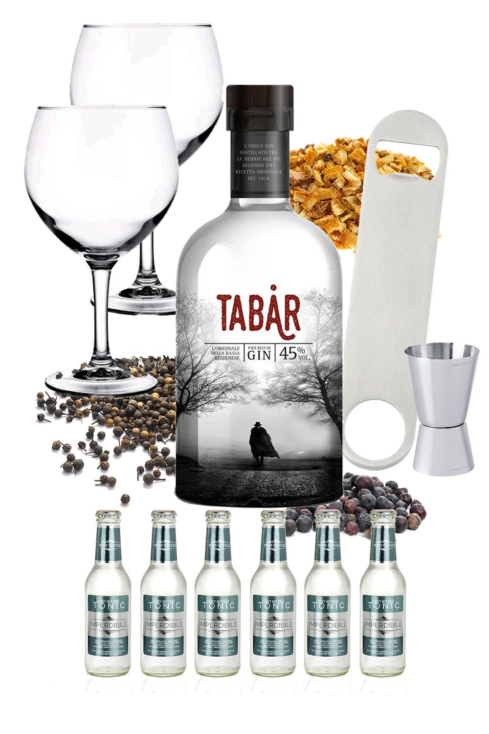Tabar – Mission Ginpossible
