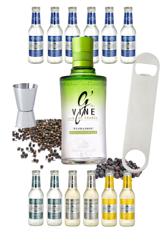 G'Vine Floraison – Tonic Tasting Home Kit