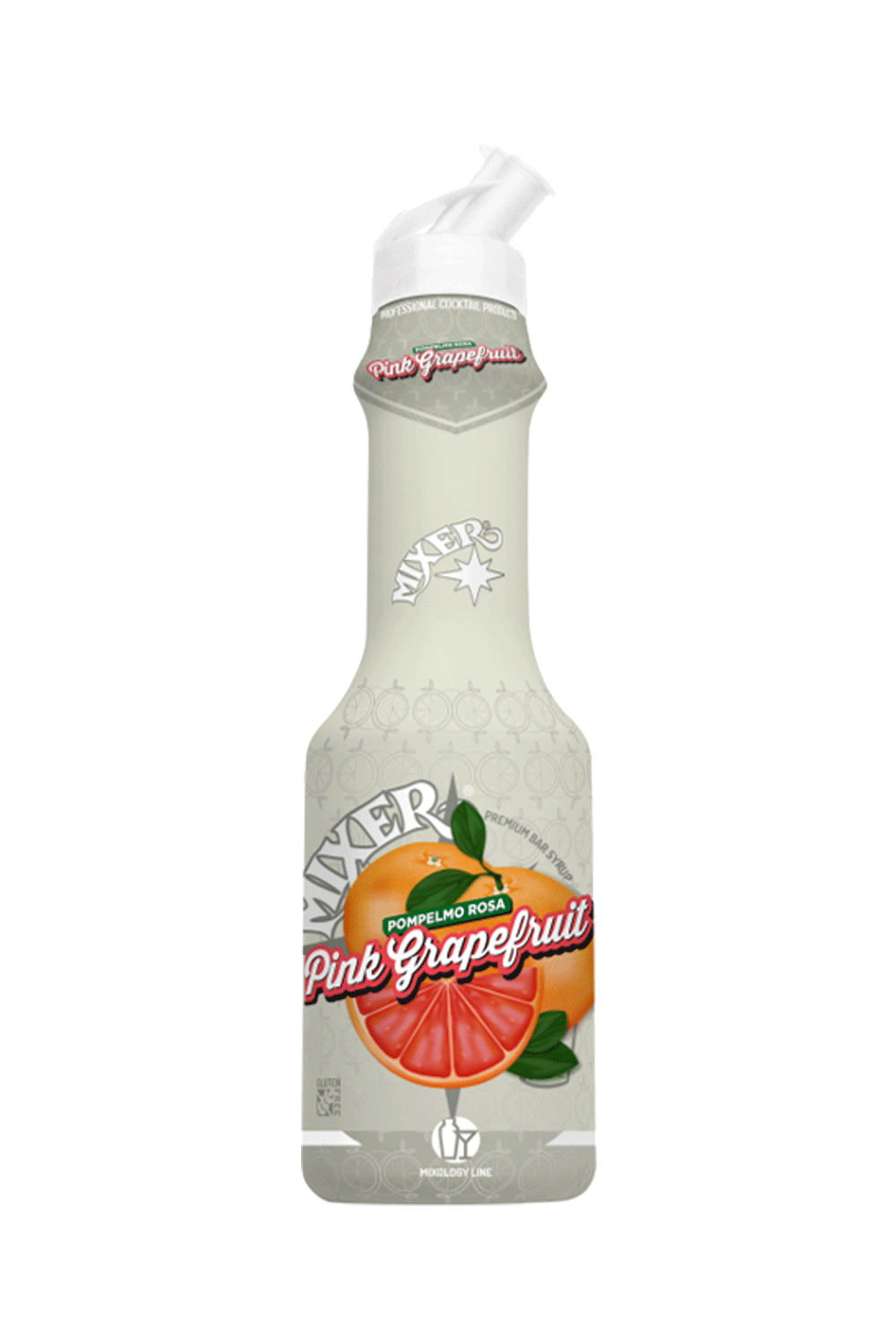 Pompelmo rosa – Pink grapefruit syrup