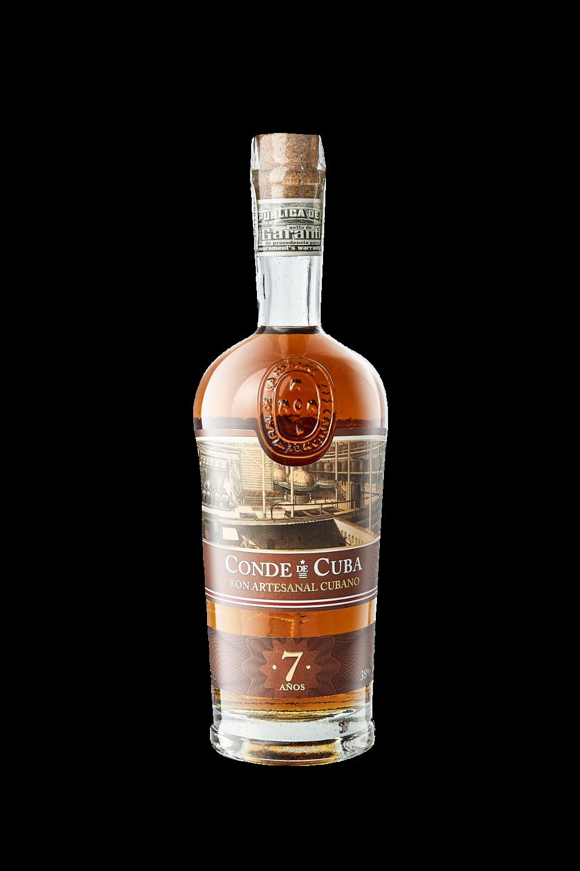 Rum Conde De Cuba 7 AÑOS