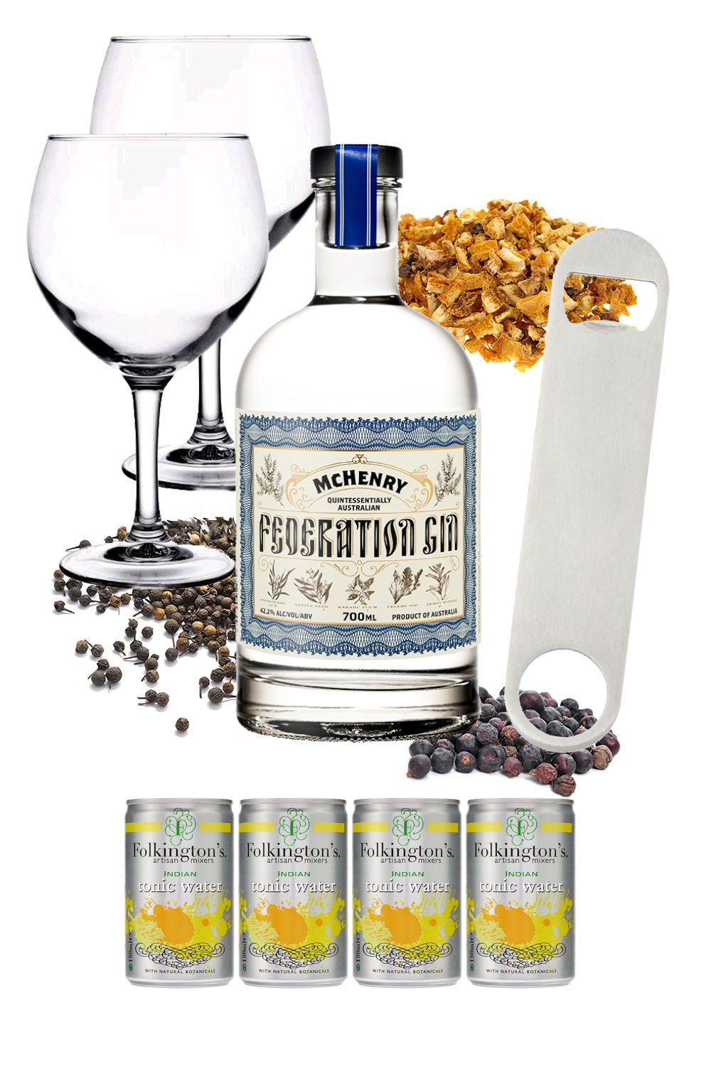 Federation Gin – Mission Ginpossible