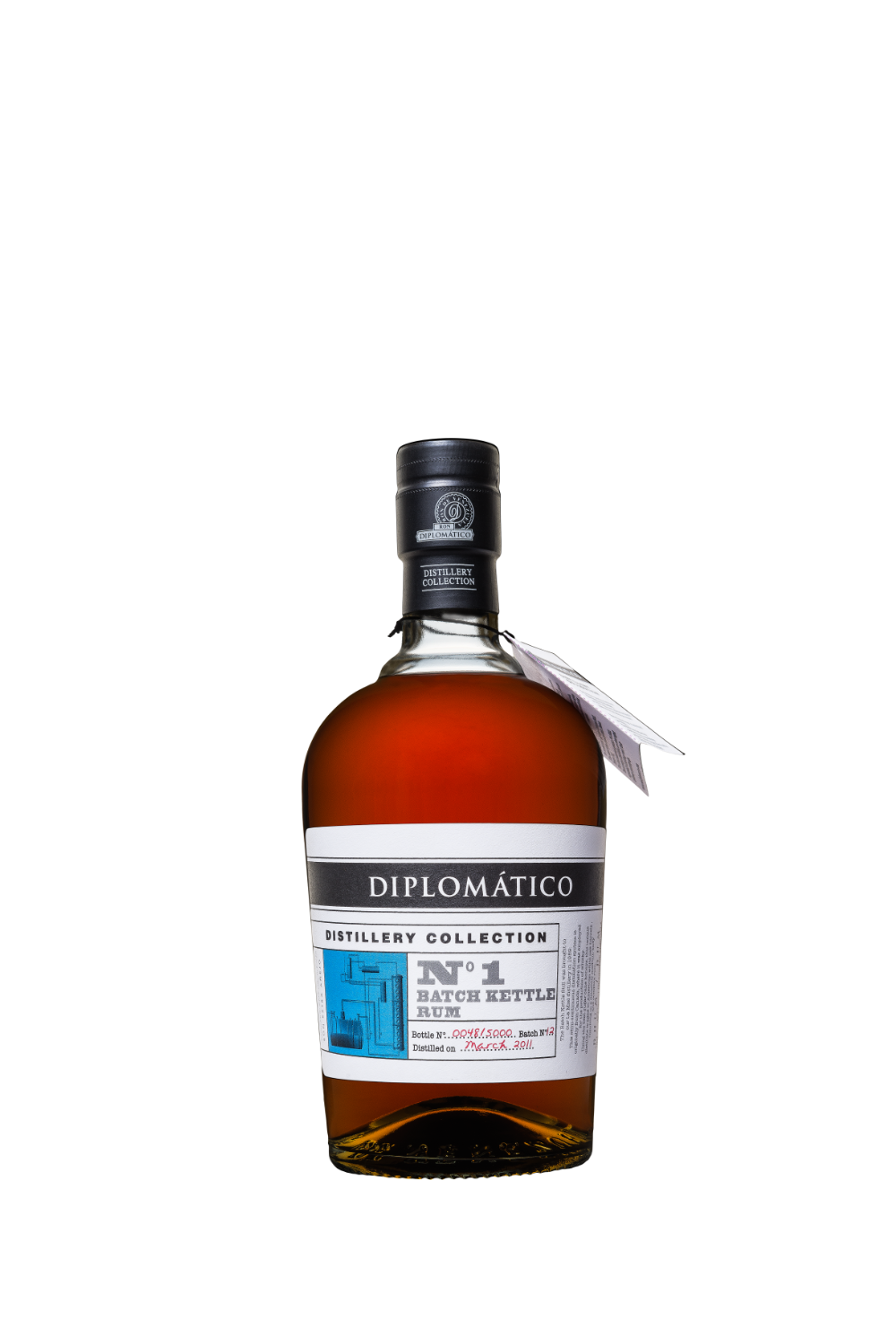 Rum Diplomatico Distillery Collection n.1 Single Kettle Batch