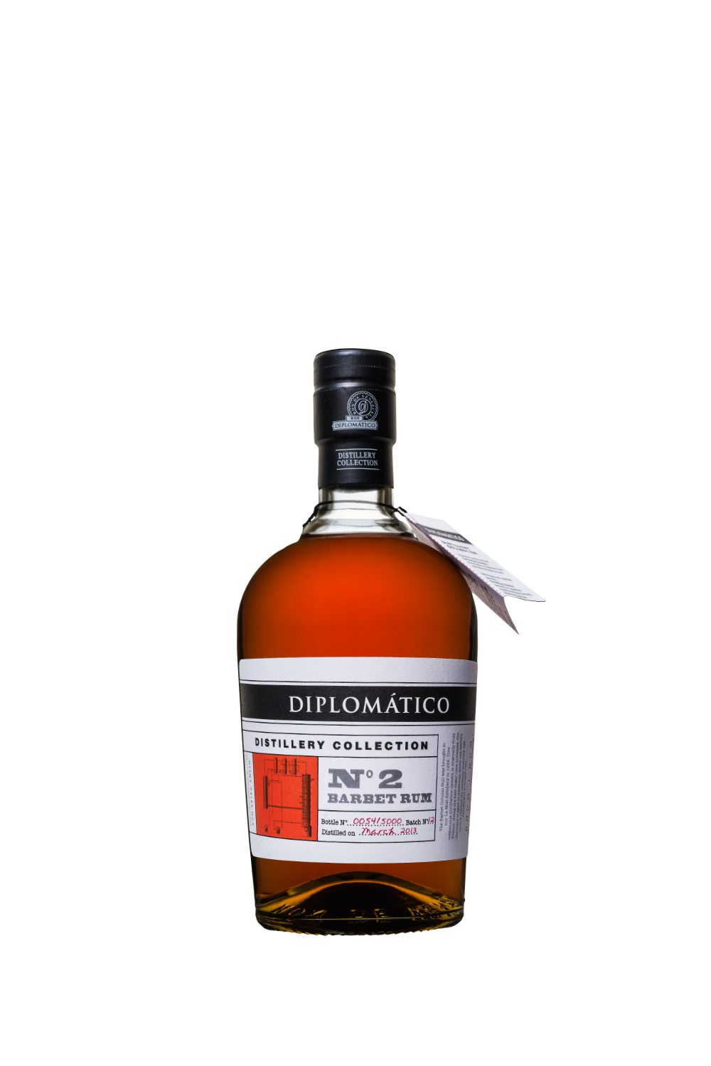 Rum Diplomatico Distillery Collection n.2 Single Column Barbet