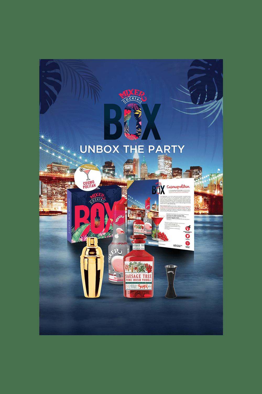 Cosmopolitan Cocktail Box