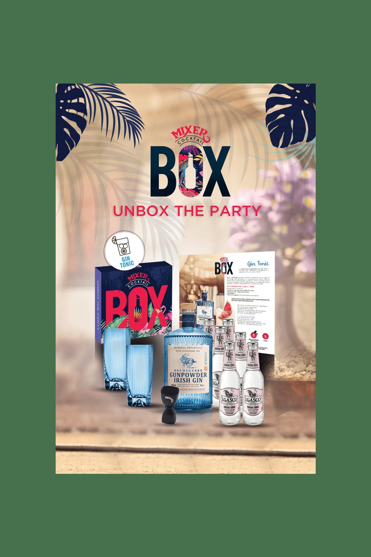 Gin Tonic Cocktail Box