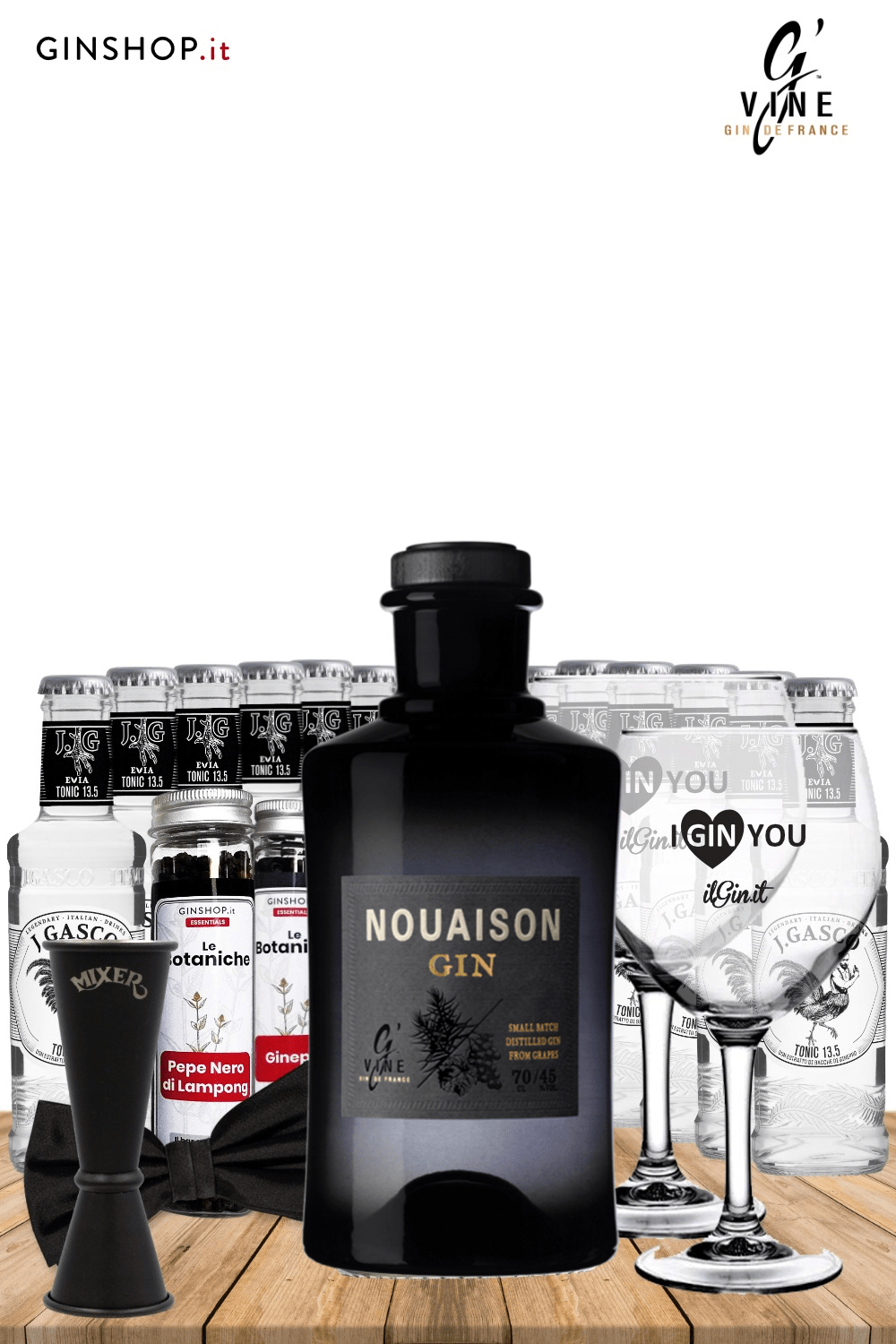 BLACK IS THE NEW GIN