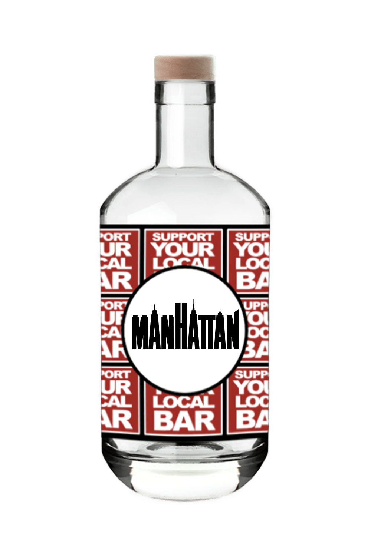 Gingerbread Gin Manhattan Mantova