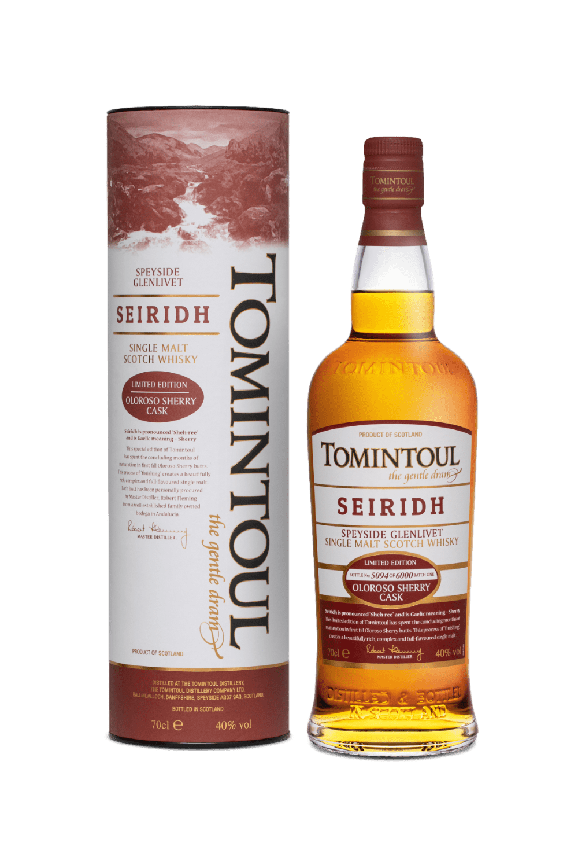 Tomintoul Seiridh Single Malt Whisky (Astucciato)