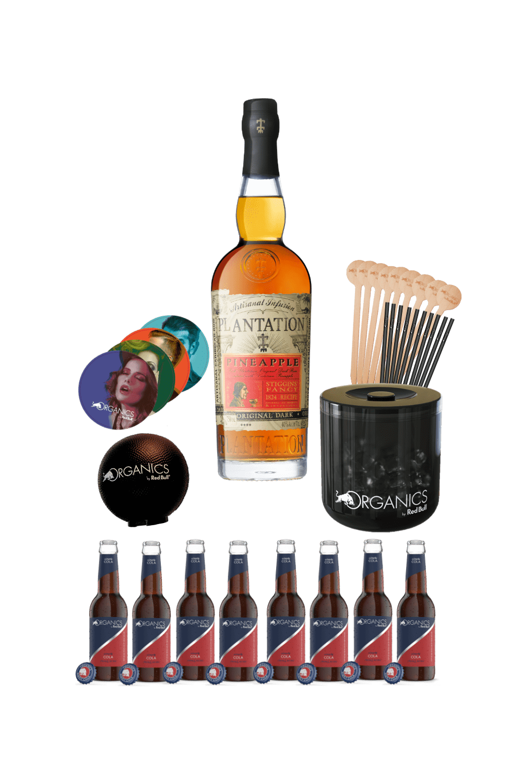 Plantation Rum – Organics party kit