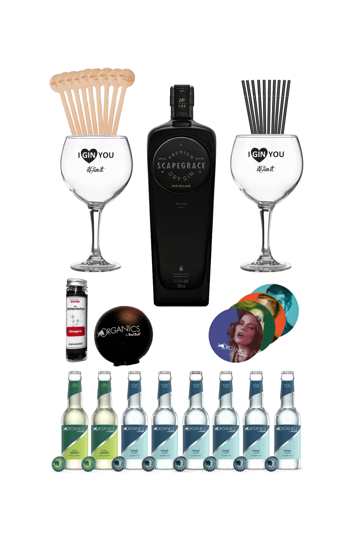 Scapegrace Black – Organics party kit