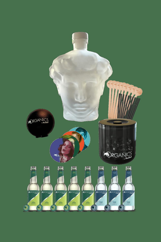 David Vodka – Organics party kit