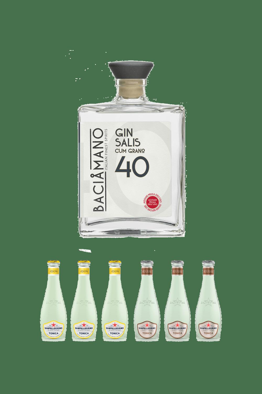 Baciamano Gin (cum grano) Salis – La Coppia Perfetta