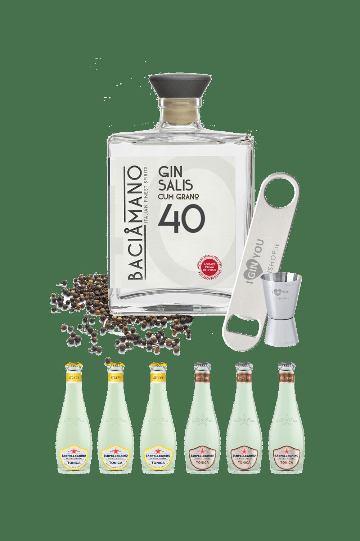 Baciamano Gin (cum grano)  Salis – Partystarter