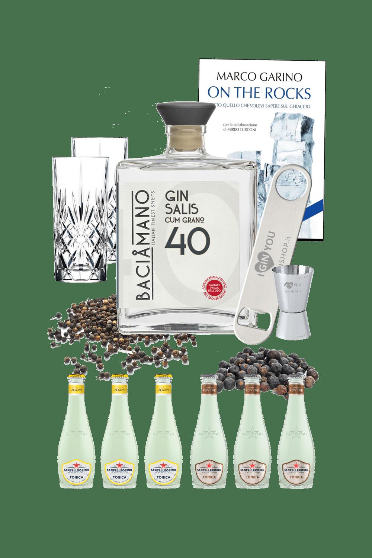 Baciamano Gin (cum grano) Salis – Gin Genie