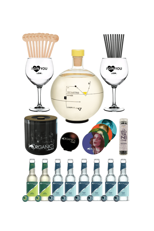Gin Geometrie – Organics party kit