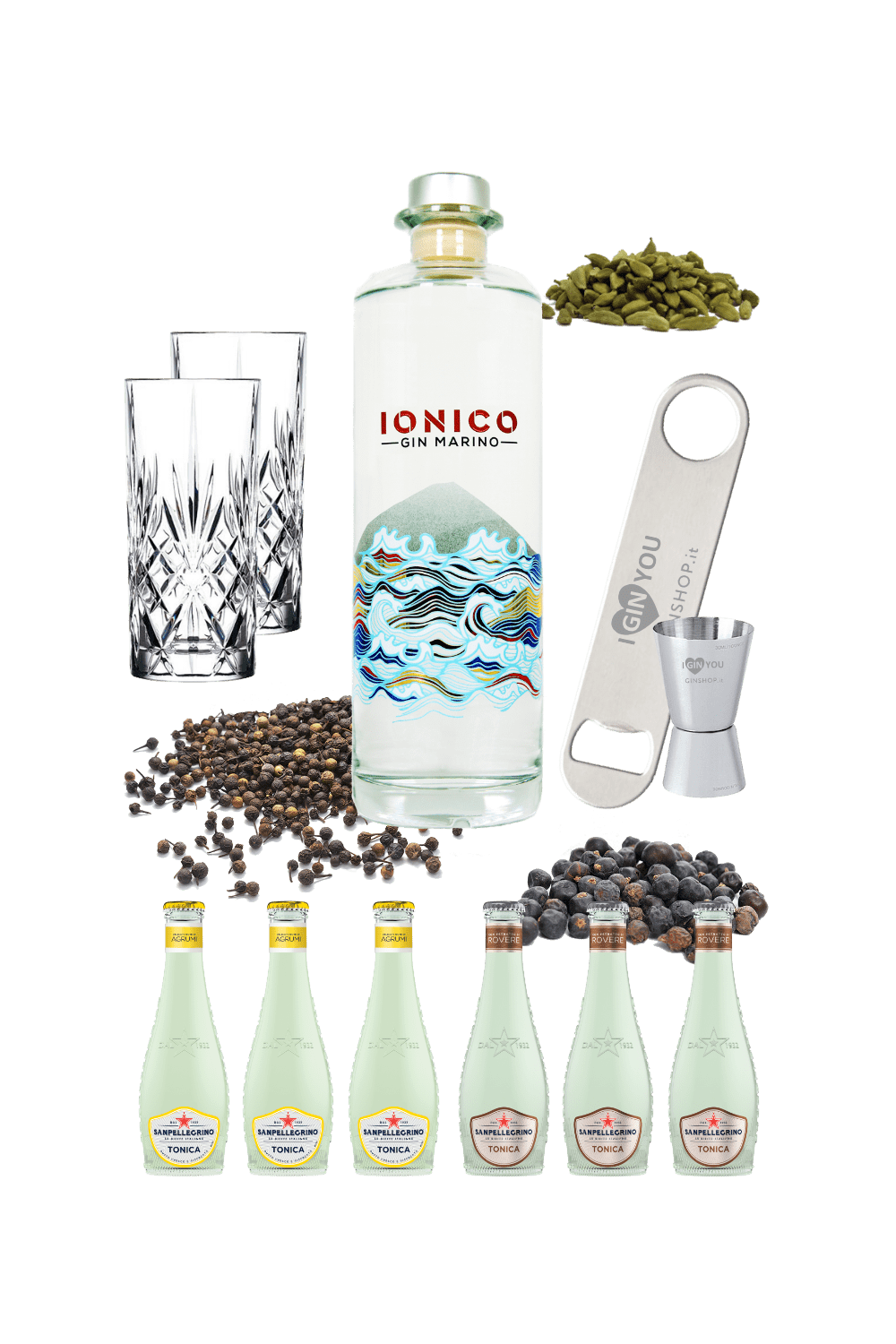 Gin Ionico – Mission Ginpossible