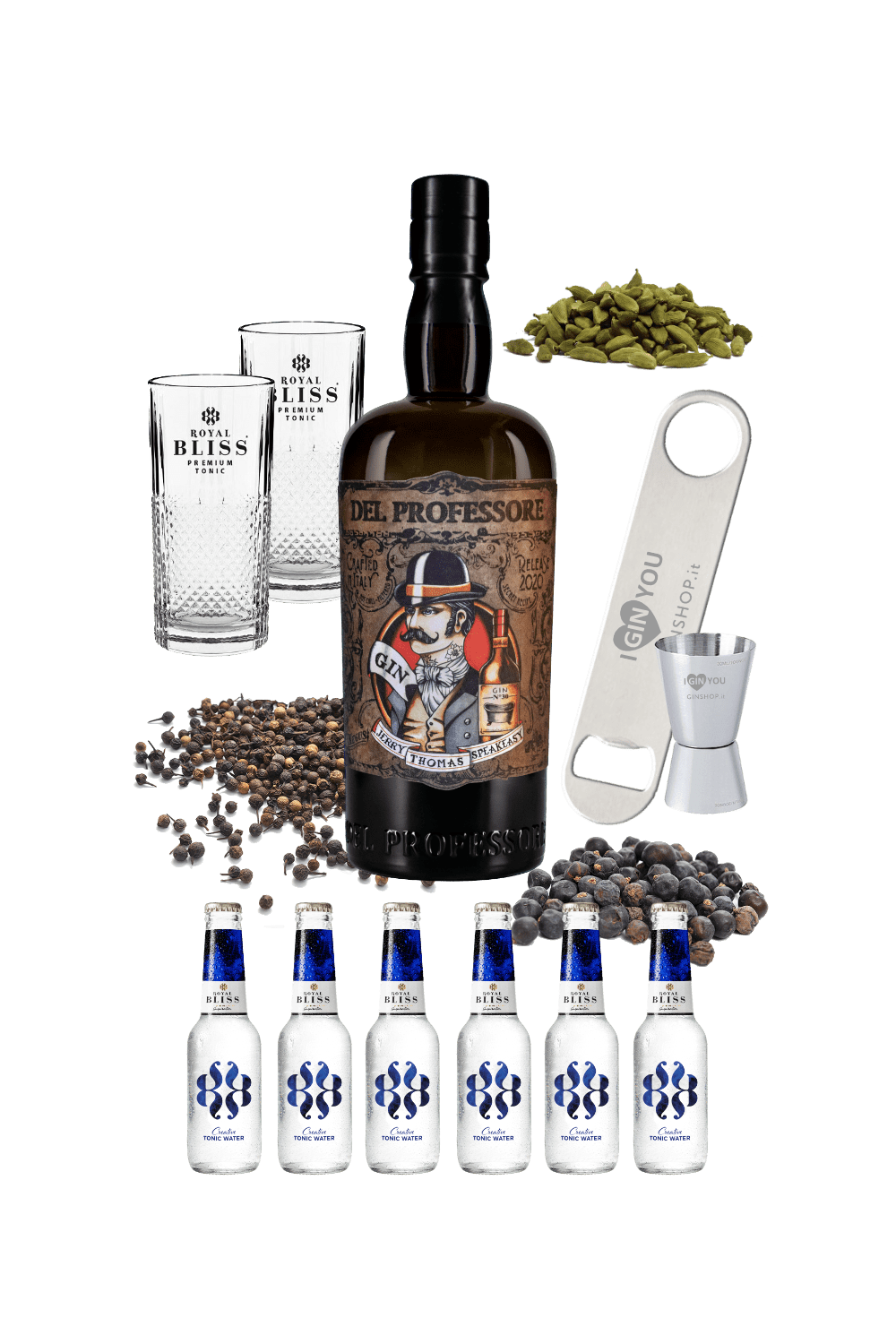 Mission Ginpossible – Gin Del Professore Monsieur