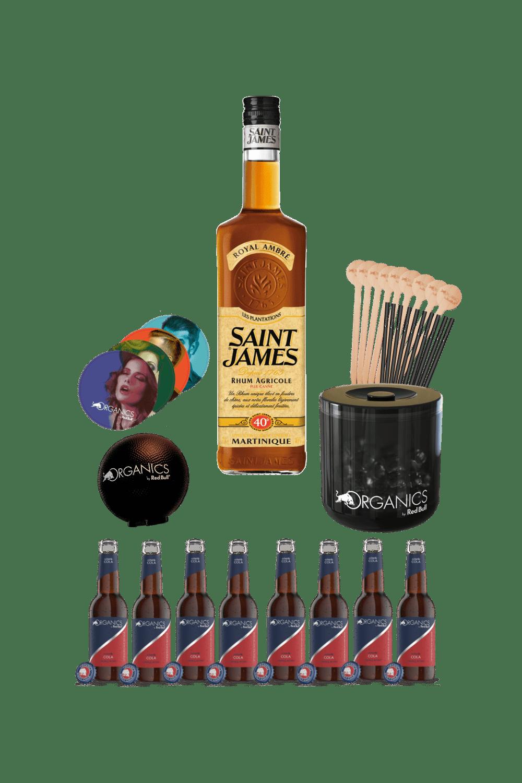 Saint James Royal – Organics party kit