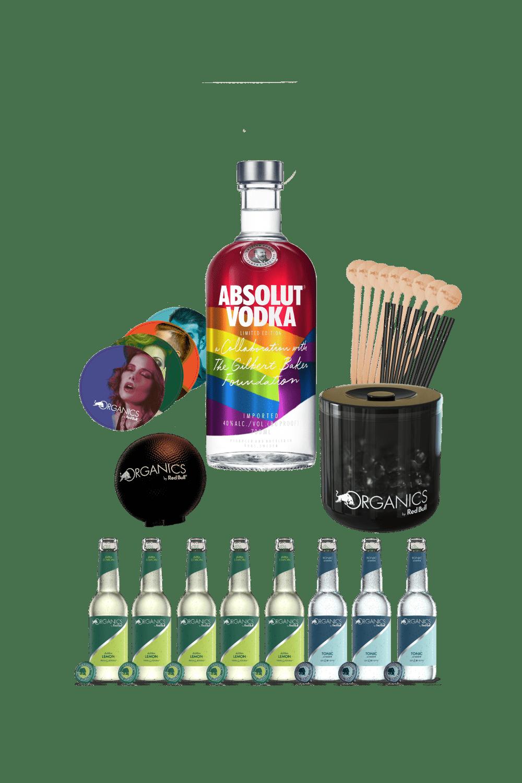 Absolut Rainbow – Organics party kit