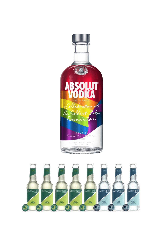 Absolut Rainbow – coppia perfetta