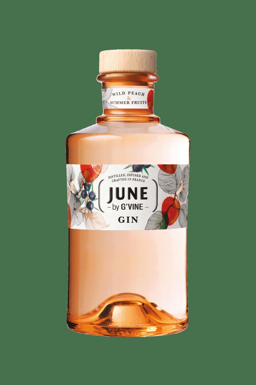June Wild Peach & Summer Fruits Gin by G'Vine