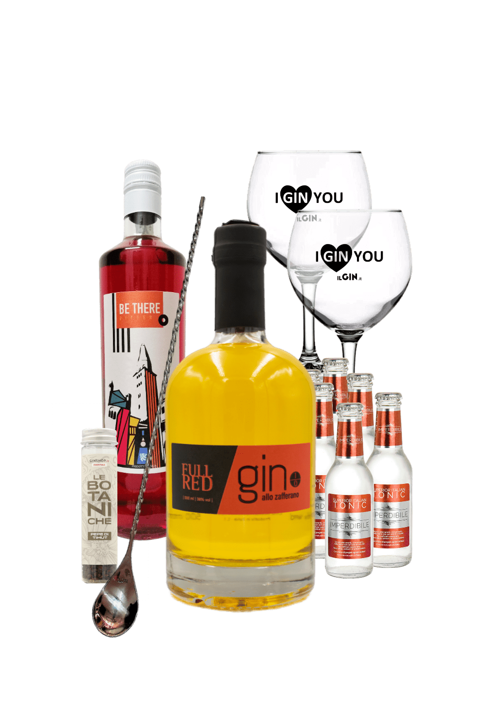 Full Red Gin – Little Red Riding Hood